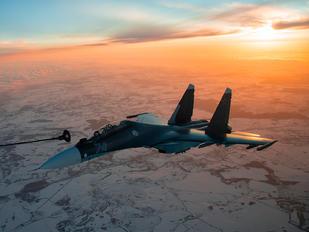 RF-34012 - Russia - Navy Sukhoi Su-30SM