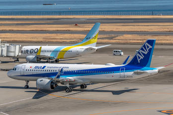 JA214A - ANA - All Nippon Airways Airbus A320 NEO