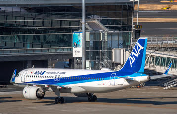 JA217A - ANA - All Nippon Airways Airbus A320 NEO