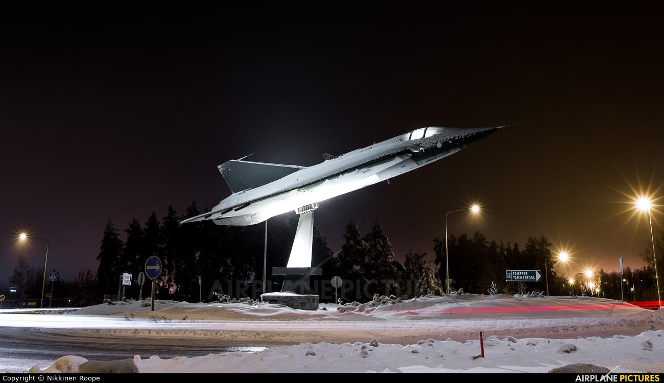 Finland - Air Force DK-208 aircraft at Turku