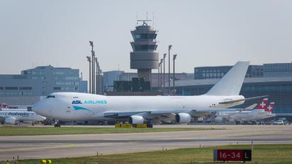 Cargo traffic at ZRH Airport
