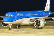 Delivery of the first Embraer E2 for KLM title=
