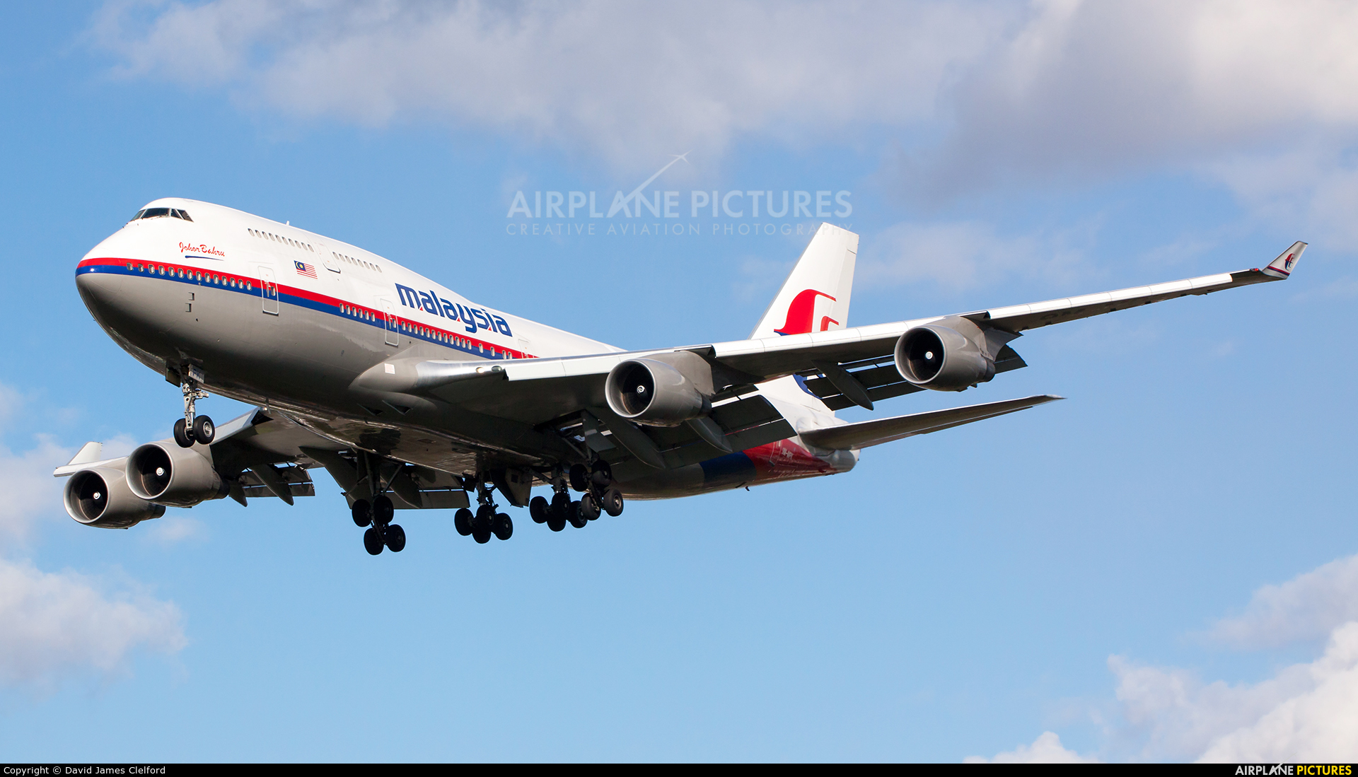 Malaysia Airlines 9M-MPK aircraft at London - Heathrow
