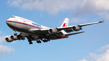 9M-MPK - Malaysia Airlines Boeing 747-400 aircraft
