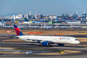 N504DN - Delta Air Lines Airbus A350-900