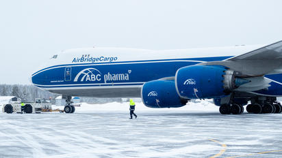 VP-BBL - Air Bridge Cargo Boeing 747-8F