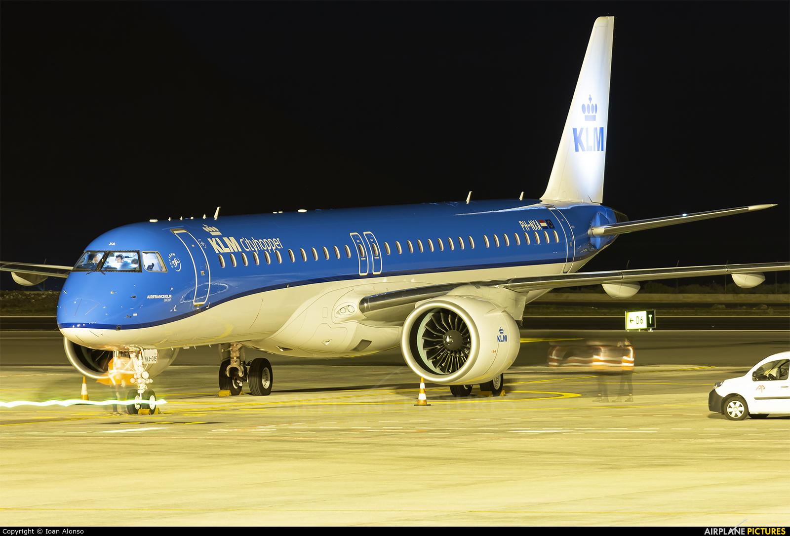 KLM Cityhopper PH-NXA aircraft at Tenerife Sur - Reina Sofia