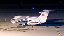 RAF BAe146 visited Zurich title=