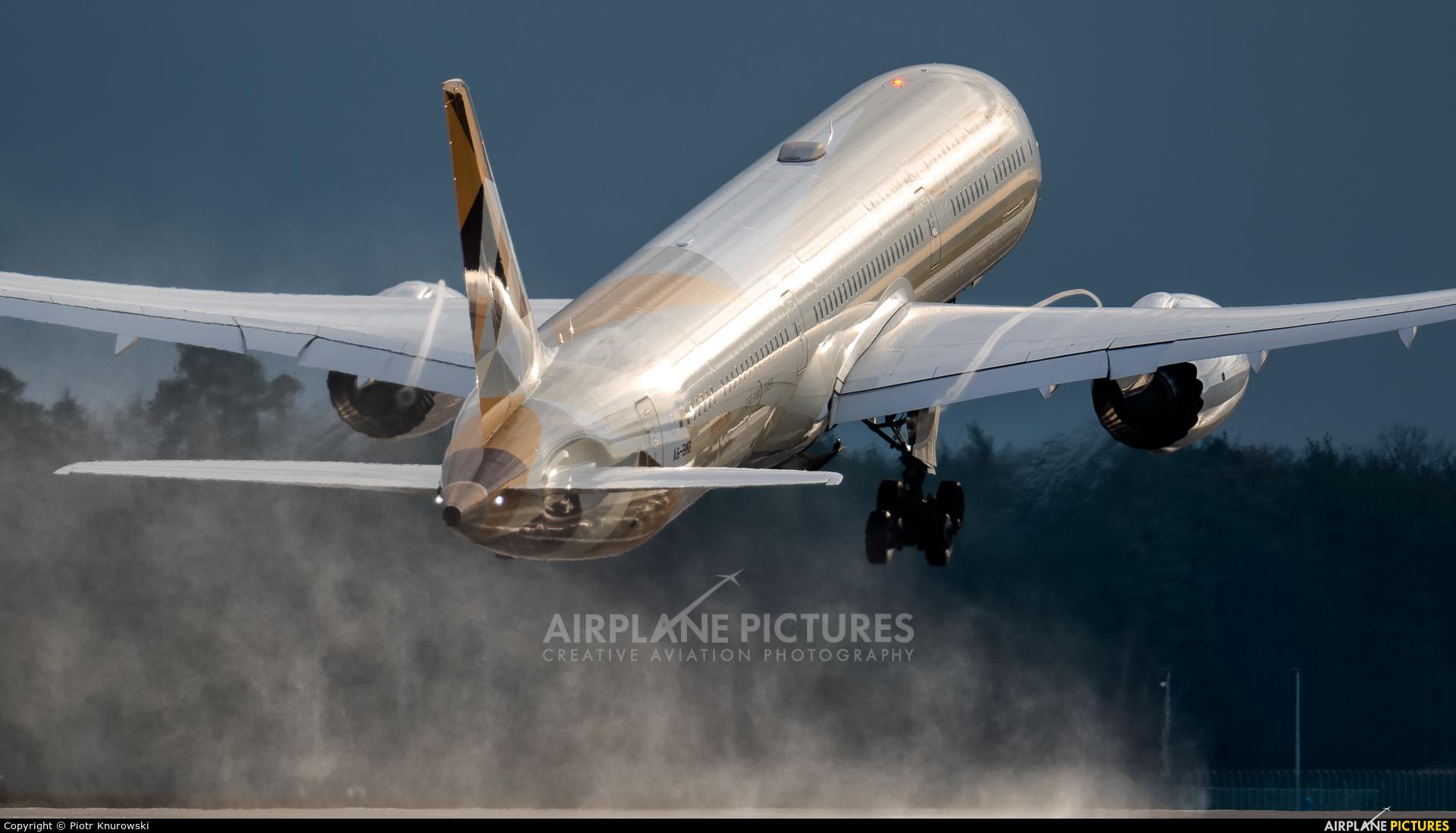 Etihad Airways A6-BMB aircraft at Frankfurt
