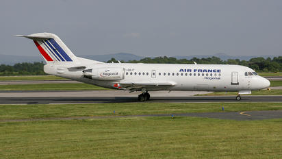 F-GLIT - Air France - Regional Fokker 70