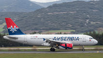 Air Serbia basketball charter at Spain Vitoria title=