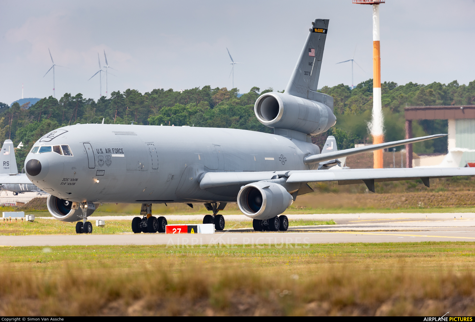 USA - Air Force 83-0079 aircraft at Ramstein