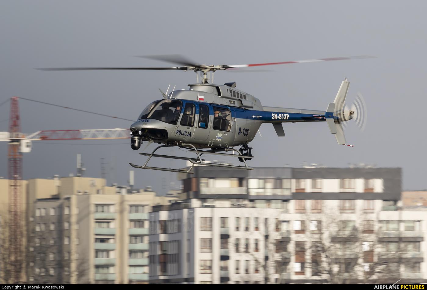 Poland - Police SN-81XP aircraft at Warsaw - Babice