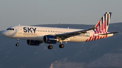 SX-TEC - Sky Express Airbus A320 NEO