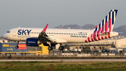 SX-IOG - Sky Express Airbus A320 NEO
