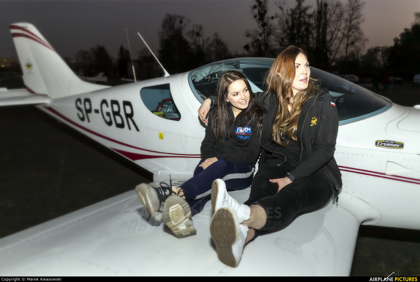 - Aviation Glamour SP-GBR aircraft at Warsaw - Babice