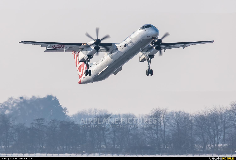LOT - Polish Airlines SP-EQI aircraft at Ostrava Mošnov