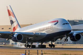 G-XLEF - British Airways Airbus A380