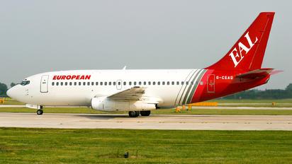 G-CEAG - European Aircharter Boeing 737-200