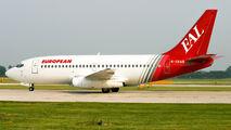 G-CEAG - European Aircharter Boeing 737-200 aircraft