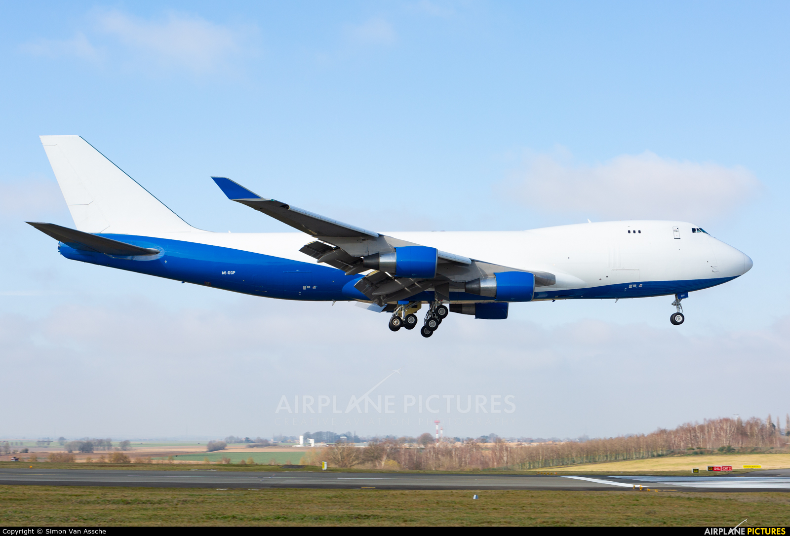 United Arab Emirates - Government A6-GGP aircraft at Liège-Bierset