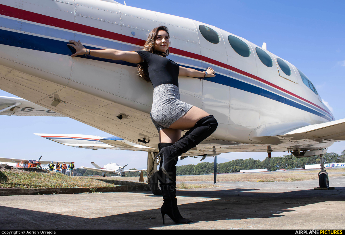 - Aviation Glamour TG-ASE aircraft at Guatemala - La Aurora
