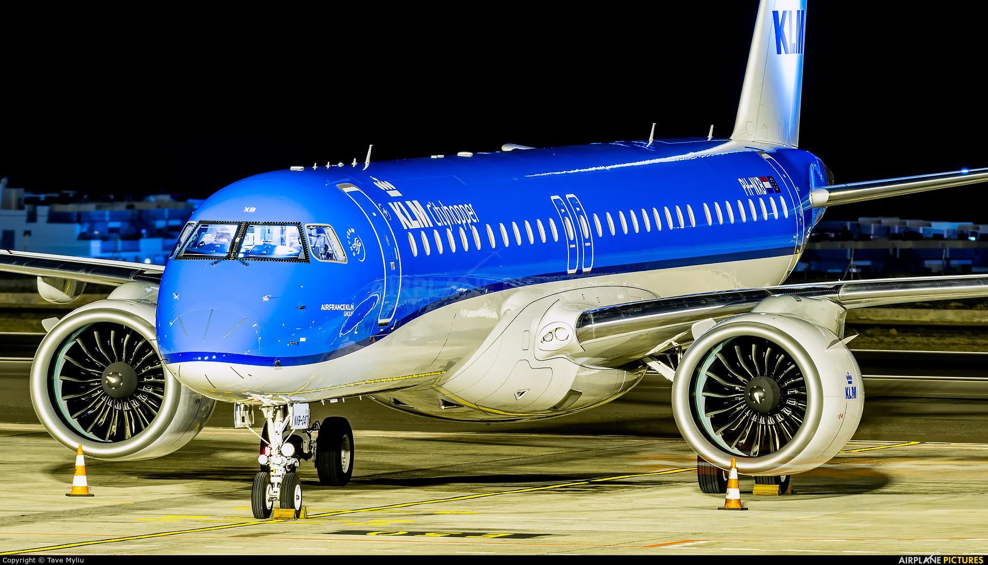 KLM Cityhopper PH-NXB aircraft at Tenerife Sur - Reina Sofia