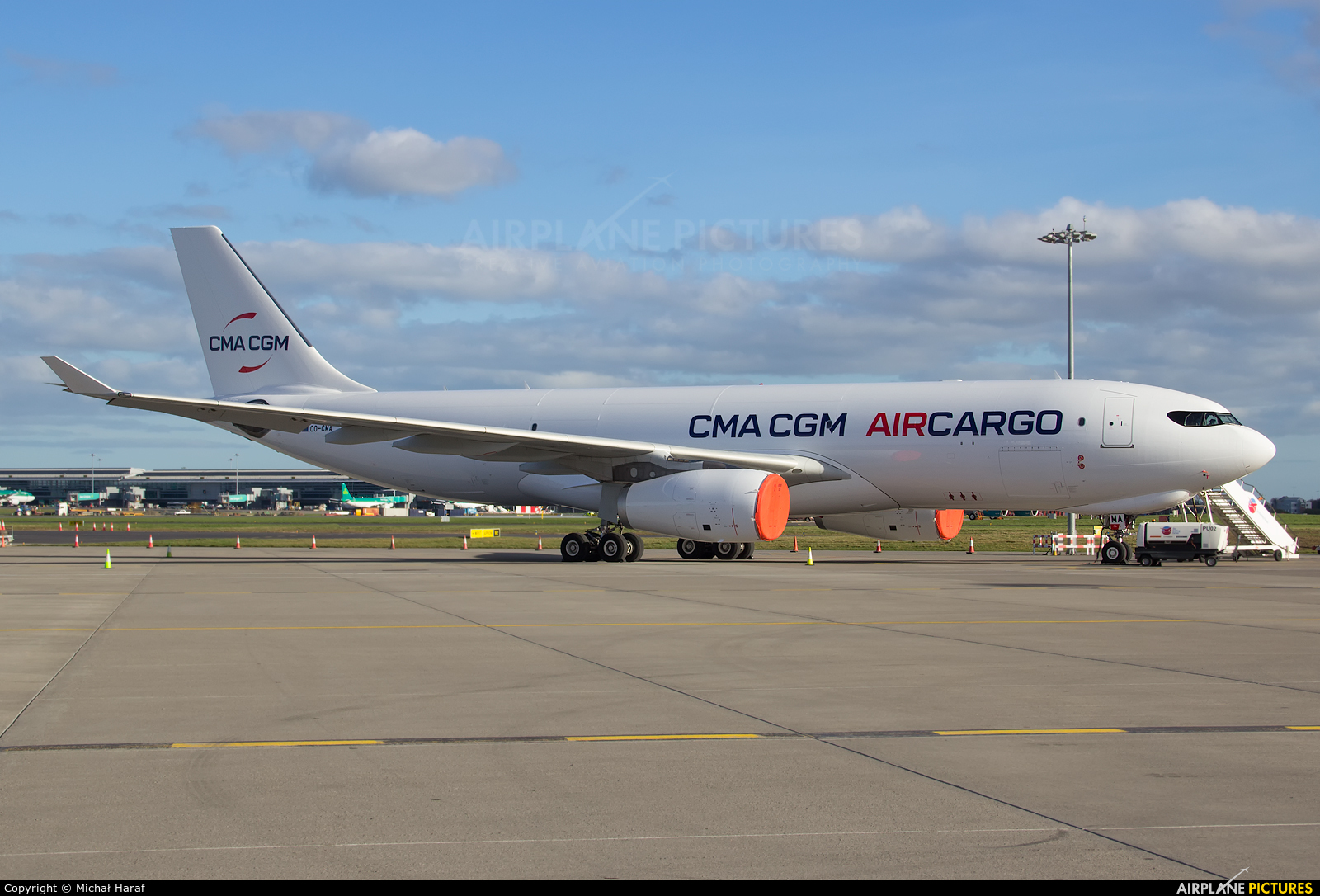 CMA CGM Aircargo (Air Belgium) OO-CMA aircraft at Dublin