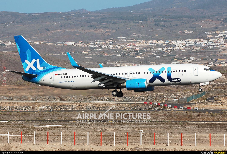 XL Airways Germany D-AXLH aircraft at Tenerife Sur - Reina Sofia
