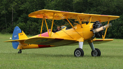 F-AZJR -  Boeing Stearman, Kaydet (all models)