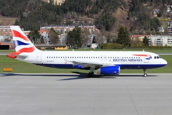 G-EUYK - British Airways Airbus A320
