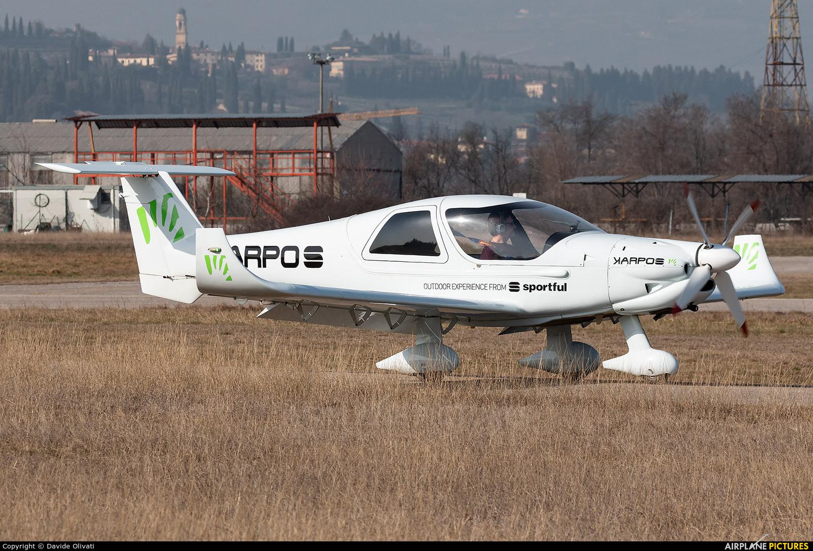 Private I-C610 aircraft at Verona - Boscomantico