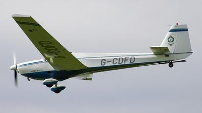 G-CDFD - Private Scheibe-Flugzeugbau SF-25 Falke