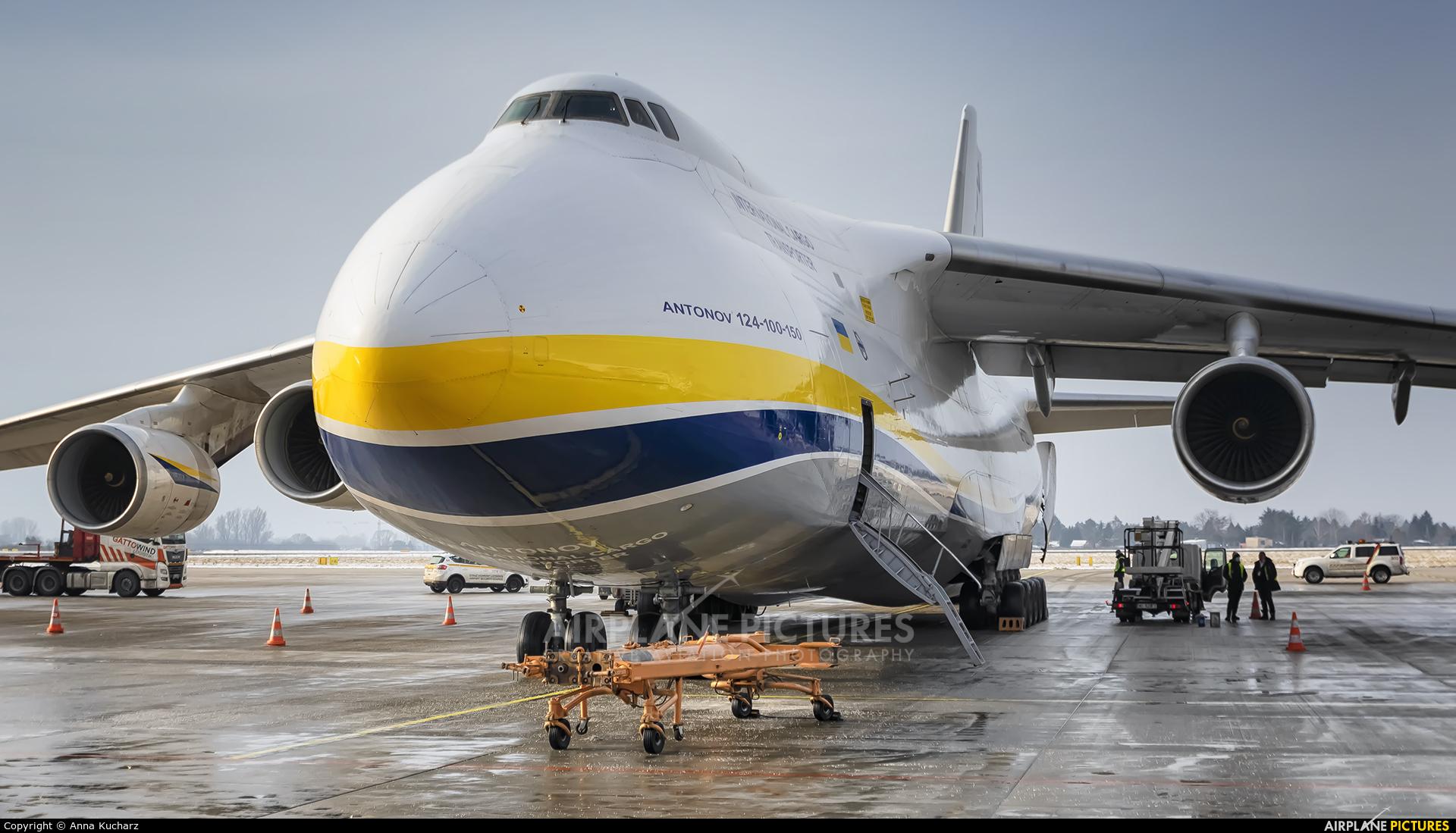 Antonov Airlines /  Design Bureau UR-82072 aircraft at Warsaw - Frederic Chopin
