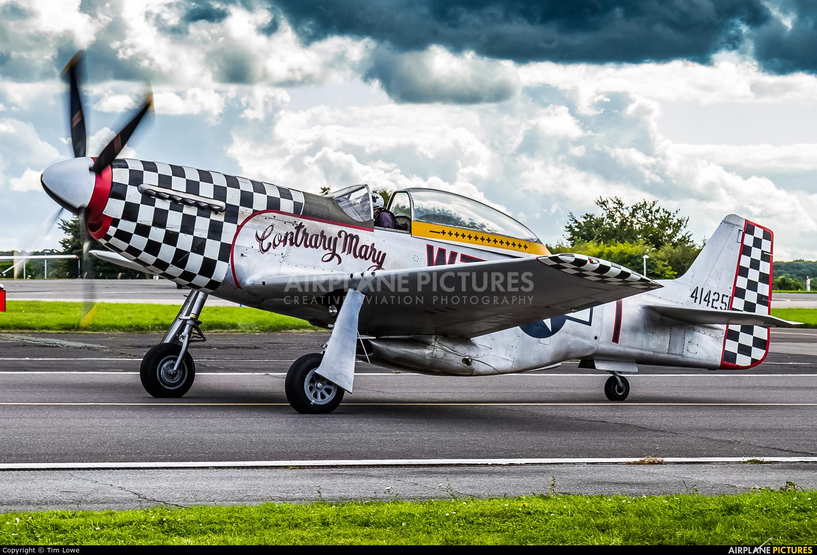 Anglia Aircraft Restorations Ltd G-TFSI aircraft at Biggin Hill