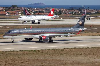 JY-EMB - Royal Jordanian Embraer ERJ-190 (190-100)