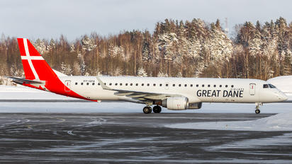 OY-GDA - Great Dane Airlines Embraer ERJ-195 (190-200)