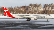 OY-GDA - Great Dane Airlines Embraer ERJ-195 (190-200) aircraft