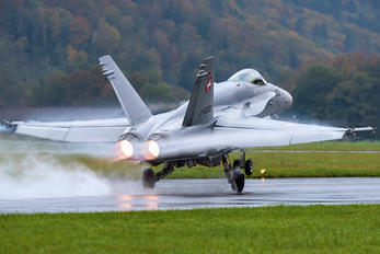 J-5002 - Switzerland - Air Force McDonnell Douglas F/A-18C Hornet