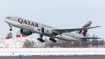 A7-BFX - Qatar Airways Cargo Boeing 777F aircraft