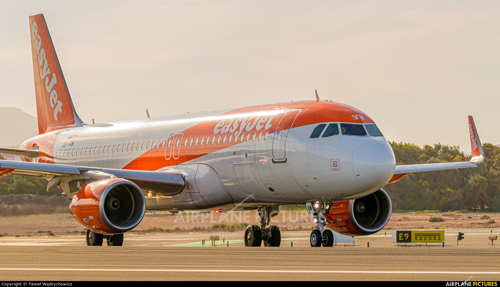 easyJet Europe OE-IVW aircraft at Fuerteventura - Puerto del Rosario