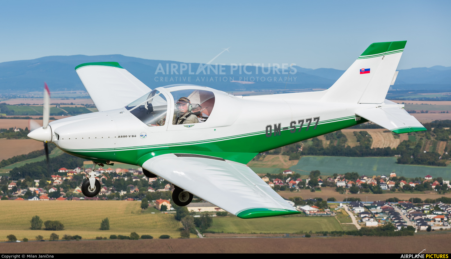 Private OM-S777 aircraft at In Flight - Slovakia