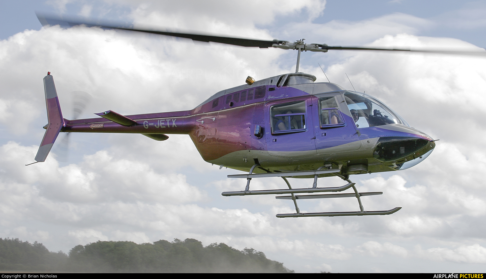 Private G-JETX aircraft at Popham