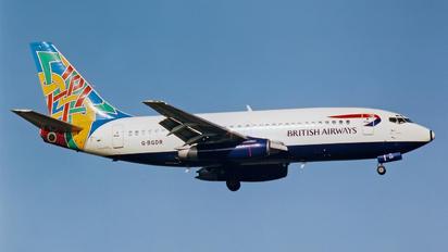G-BGDR - British Airways Boeing 737-200