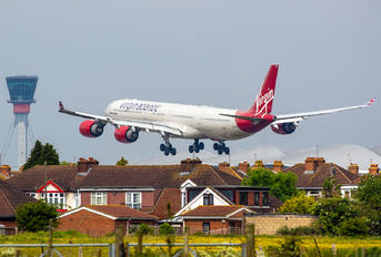 G-VRED - Virgin Atlantic Airbus A340-600