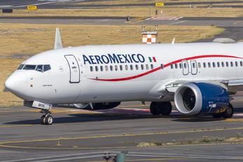 XA-MAK - Aeromexico Boeing 737-8 MAX