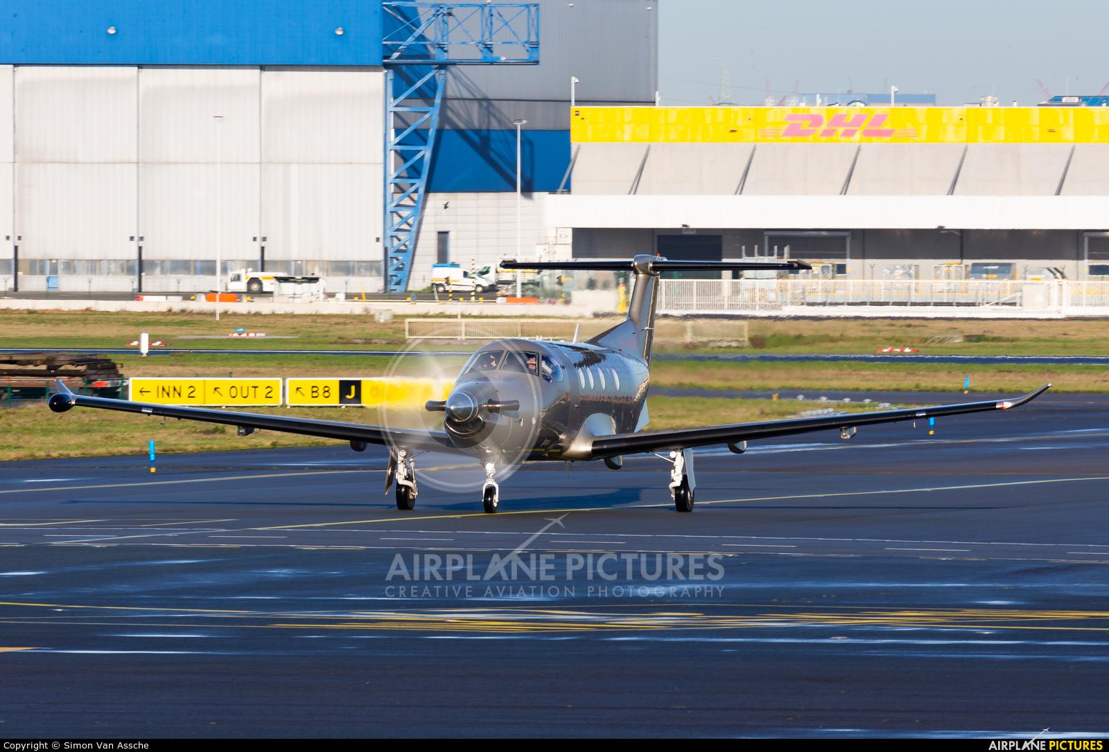 Jetfly Aviation LX-JFV aircraft at Brussels - Zaventem