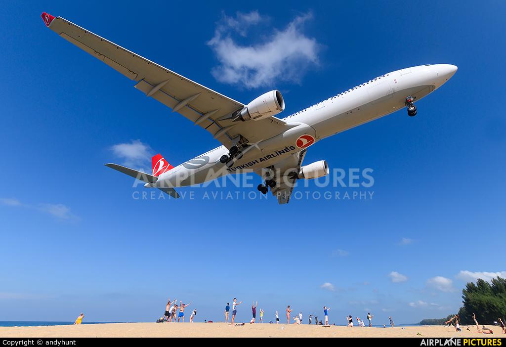 Turkish Airlines TC-LNF aircraft at Phuket