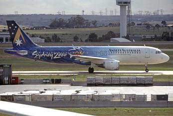 VH-HYB - Ansett Australia Airbus A320