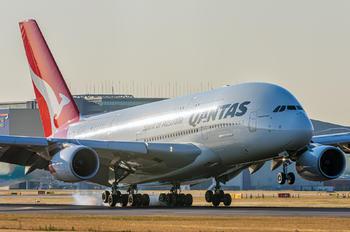 VH-OQK - QANTAS Airbus A380